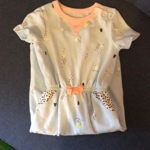 Cat and Jack girls romper 12 month